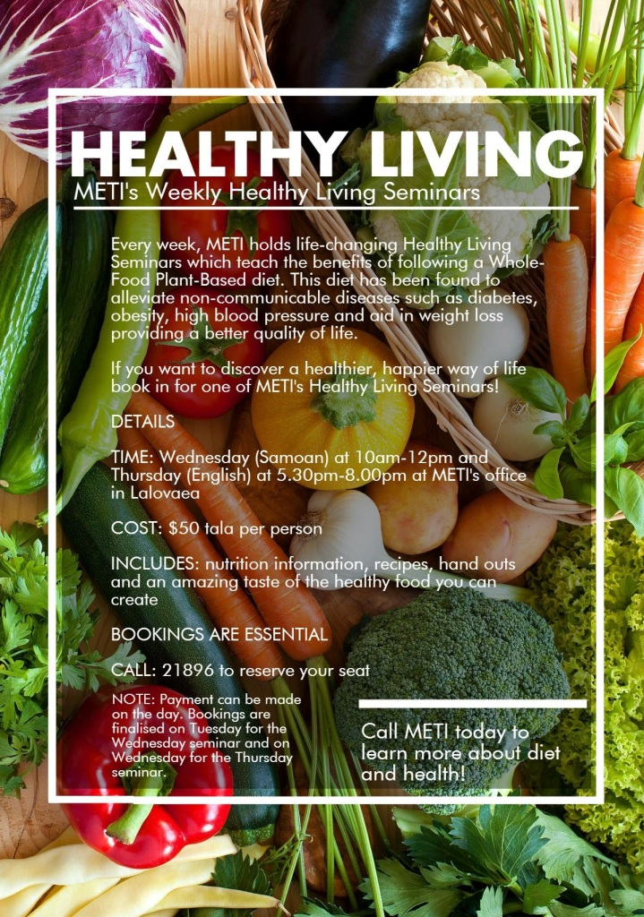 METI Healthy Living 1